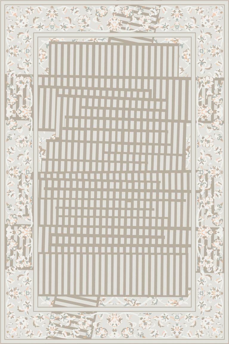 Carpt handgefertigter Teppich Tendril Tapes Daylight