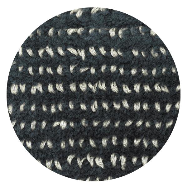 Carpt handgefertigter Teppich Bichrome Reef beiged anthracite