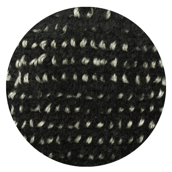 Carpt handgefertigter Teppich Bichrome Reef beiged black