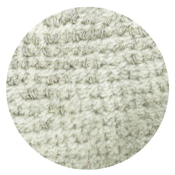 Carpt handgefertigter Teppich Bichrome Reef beiged pearl