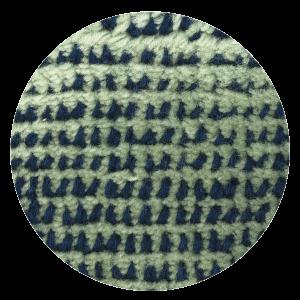 Carpt handgefertigter Teppich Bichrome Reef blued turquoise