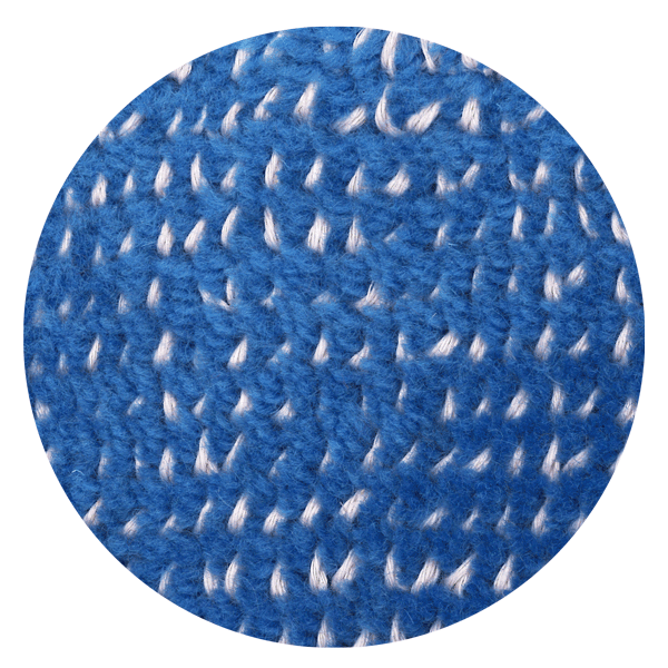 Carpt handgefertigter Teppich Bichrome Reef rosed blue