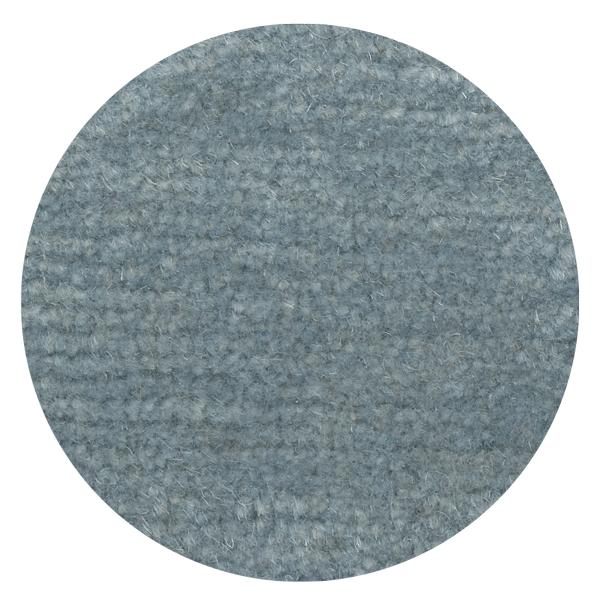 Carpt handgeknüpfter Himalaya-Wolle Teppich Bouncy Wool Baby blue