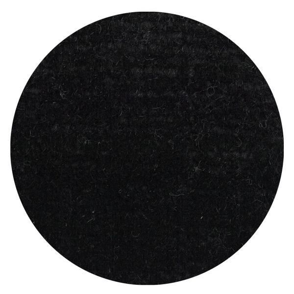 Carpt handgeknüpfter Himalaya-Wolle Teppich Bouncy Wool Dodgy Black