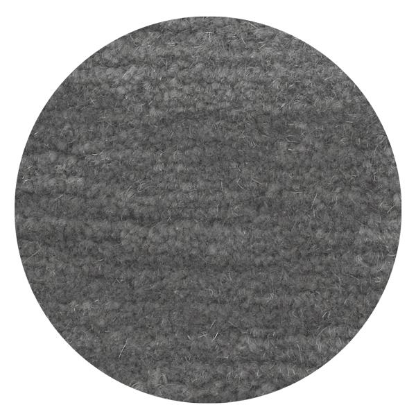 Carpt handgeknüpfter Himalaya-Wolle Teppich Bouncy Wool Glossy grey