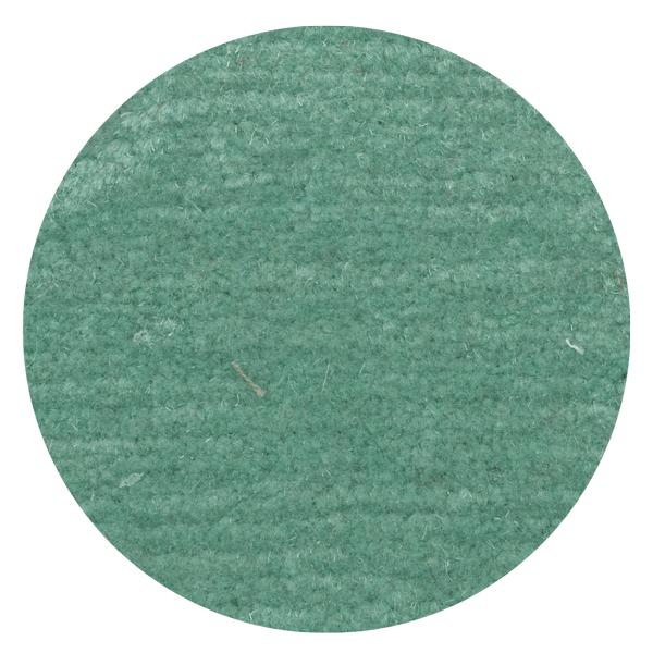 Carpt handgeknüpfter Himalaya-Wolle Teppich Bouncy Wool Pastel teal
