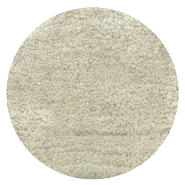Carpt handgeknüpfter Himalaya-Wolle Teppich Bouncy Wool Snowy white