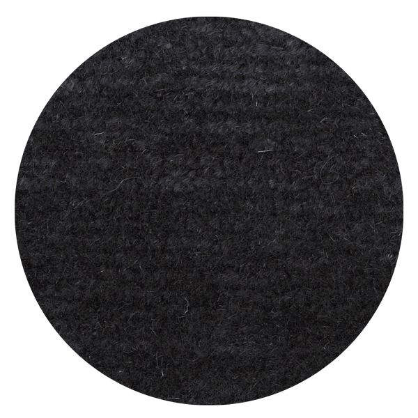 Carpt handgeknüpfter Himalaya-Wolle Teppich Bouncy Wool Tipsy Anthracite
