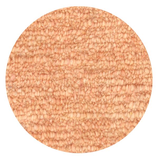 Carpt handgeknüpfter Leinen Teppich Glossy Linen Blushy apricot