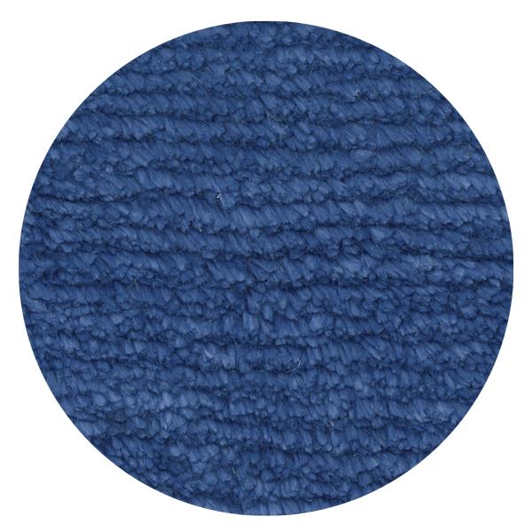Carpt handgeknüpfter Leinen Teppich Glossy Linen Breezy blue