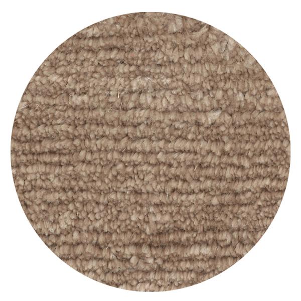 Carpt handgefertigter Leinen Teppich Glossy Linen Creamy hazel