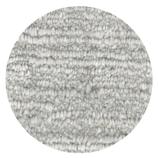 Carpt handgefertigter Leinen Teppich Glossy Linen Frozen grey
