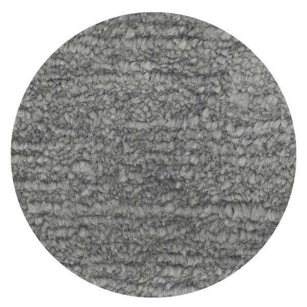 Carpt handgefertigter Leinen Teppich Glossy Linen Glossy grey