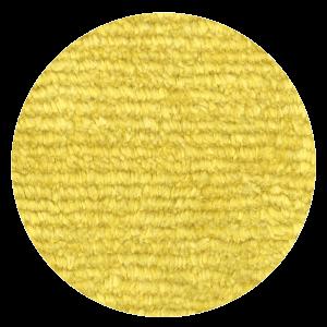 Carpt handgeknüpfter Leinen Teppich Glossy Linen Lemony yellow