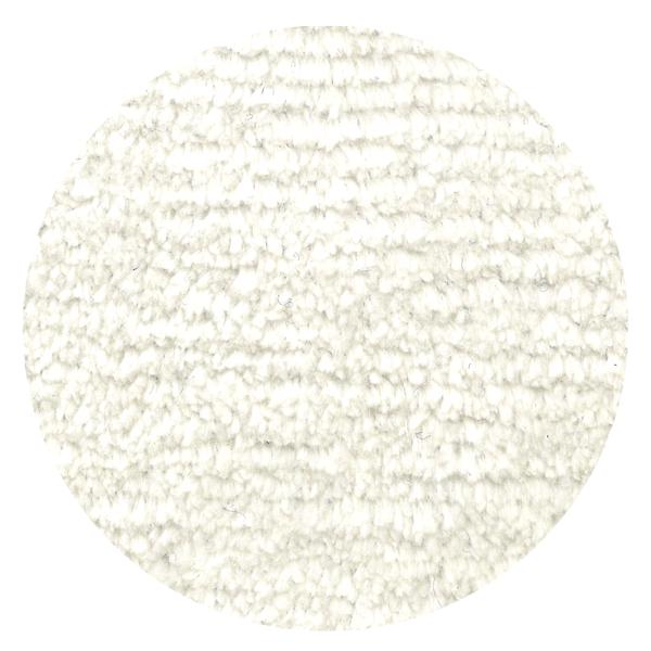 Carpt handgeknüpfter Leinen Teppich Glossy Linen Snow white