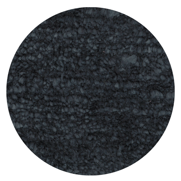 Carpt handgefertigter Leinen Teppich Glossy Linen Tipsy Anthracite