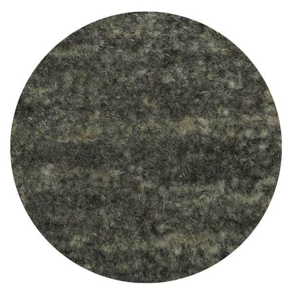 Carpt handgefertigter ungefärbter Himalaya-Wolle Teppich Natural Raised pitch black mix