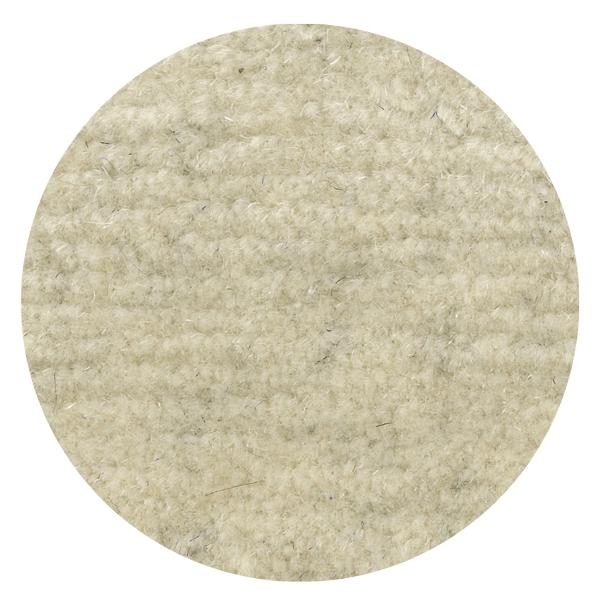 Carpt handgefertigter ungefärbter Himalaya-Wolle Teppich Natural Raised snowy
