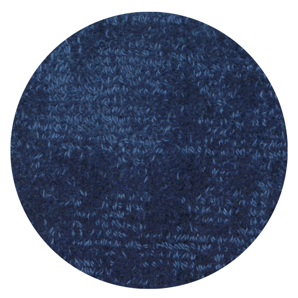 Carpt handgefertigter Teppich Shiny Cotton Azure