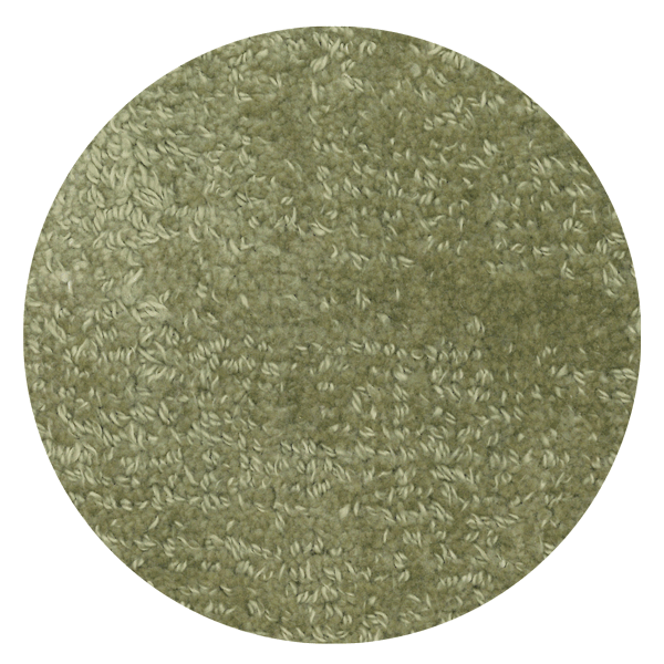 Carpt handgefertigter Teppich Shiny Cotton Laguna grün