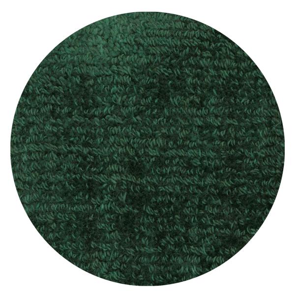 Carpt handgefertigter Teppich Shiny Cotton Nori grün