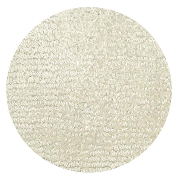 Carpt handgefertigter Teppich Shiny Cotton Pearl weiss